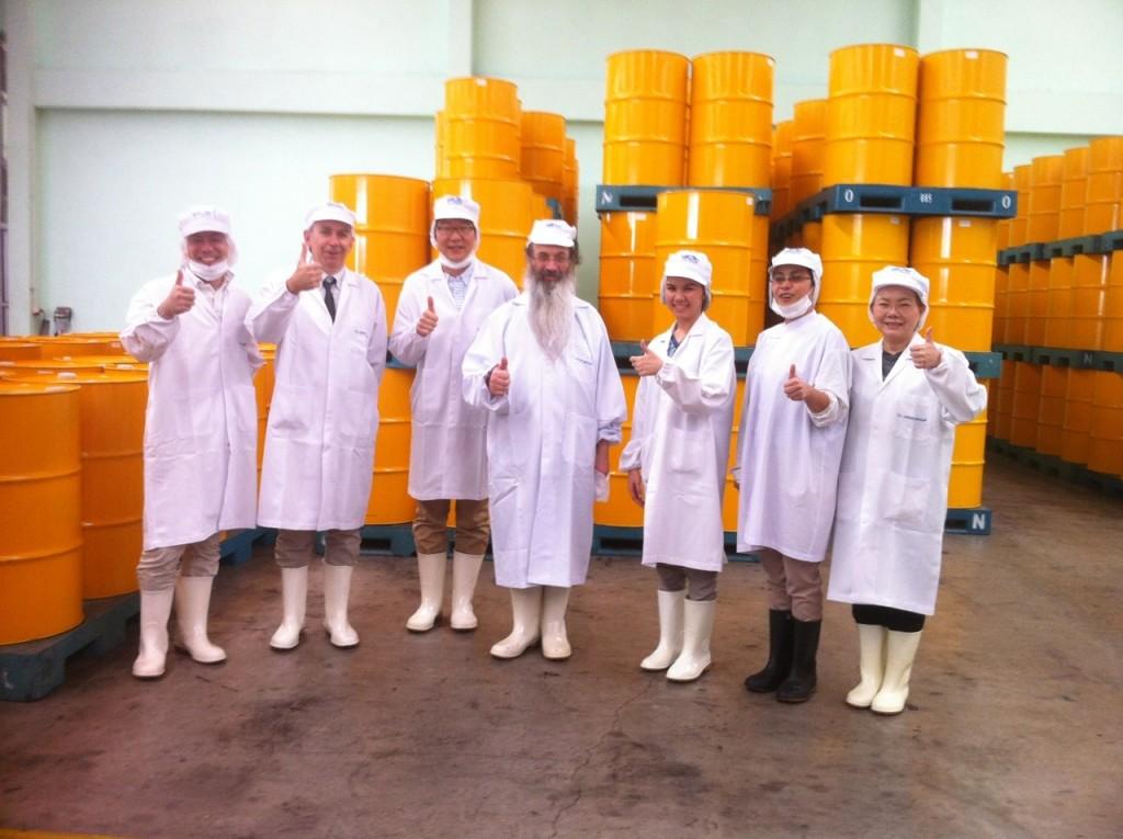 Tuna production facility in Thailand